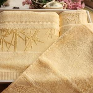 High quality bath towel set 100% ba..