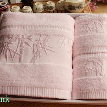 High quality bath towel set 100% bamboo fiber bath towel piece set